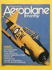 AEREO MENSILE - NOVEMBRE 1978 - Fertile Mirto - Rutan Defiant - Oshkosh 78