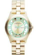 Marc By Marc Jacobs Henry Skeleton Gold Tone Womens Watch MBM3295 $250