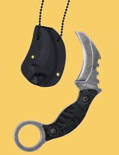 Haller Security Neck Knife Karambit cuchillo einhandmesser con collar 80445
