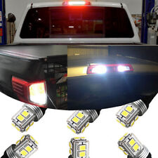 T10 White LED License Plate Backup High Mount Light Bulbs 15-18 Colorado Canyon
