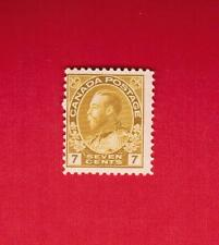 1912   #  113 **  FNH  TIMBRE CANADA  STAMP  GEORGE V ADMIRAL  ISSUE