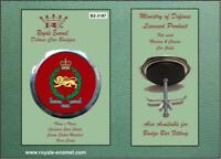 Royale Military Car Grill Badge & Fittings KINGS OWN BORDER REGIMENT B2.3187