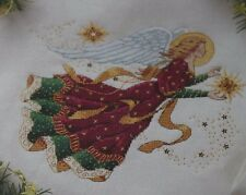 Dimensions Bright Star Angel Christmas Cross stitch kit waste Canvas