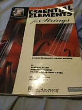 Essential Elements for Strings, Violin Book 1, Hal Leonard, E-Interactive