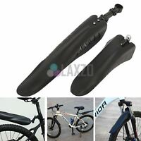 """Mountain Bike Bicycle Cycling Front/Rear Mudguards Fender Set Fits 26"""" 27.5"""" 29"""""""