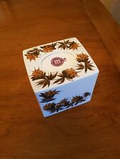 """Jersey Pottery Tissue Box Cover 4.5x4.5x4"""" (perfect condition)"""
