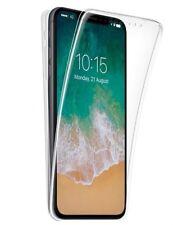 Funda doble 360º para iPhone X Delantera y trasera Transparente 100%. Sin puntos