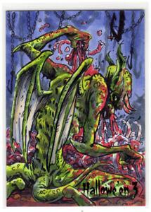 Perna Studios Halloween Hallowe'en 3 Matthew Sutton Sketch Card