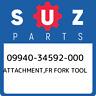 09940-34592-000 Suzuki Attachment,fr fork tool 0994034592000, New Genuine OEM Pa