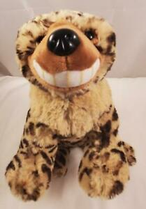 "Rare Ganz Webkinz Plush Beanie 10"" Wild Spotted Laughing Hyena HM670 No Code"