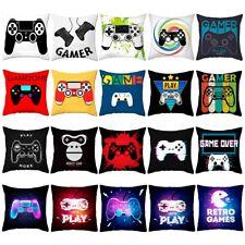 """Gaming Video Controller Cushion Cover Throw Pillow Case Home Sofa Decor 18x18"""""""