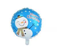 """18"""" Inch Blue Father Christmas Foil balloon Party Balloon Xmas Decoration ballon"""