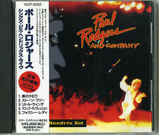 Paul Rodgers & Company-The Hendrix Set Japon CD OBI/Firm Queen Bad Company Free