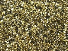 Star/Snowflake 13mm Beads Gold 25g Decoration Christmas Craft FREE POSTAGE