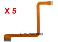 5 PCS FOR Panasonic NV-GS3 GS5 GS7 GS30 GS50 GS70 LCD Flex Cable Ribbon camera