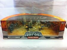 Star Wars Galáctica HEROES Battle of GEONOSIS Set de figuras HASBRO 2006
