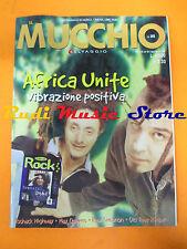 Rivista MUCCHIO SELVAGGIO 393/2000 Africa Unite Old Time Relijun May Queens Nocd
