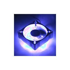 EverCool 60mm x60mm x25mm  4 Blue LED Aluminum Fan