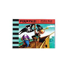 PIRATES!  Sticker book - 70 + stickers