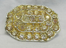 Crystal Vintage Costume Brooches/Pins (1960s)