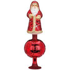 Sankt Nikolaus Christbaumspitze 32cm INGE-GLAS Weihnachtsschmuck