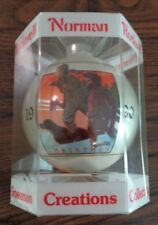 Dave Grossman Norman Rockwell Christmas Ornament 1990 NIB