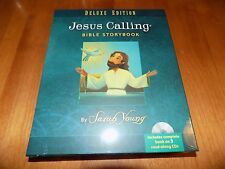 JESUS CALLING BIBLE STORYBOOK Deluxe Edition Hardcover Book + 3 CDs CD SET NEW