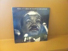 PEACE ON EARTH: DR.MARTIN LUTHER KING JR.  VINYL