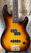 1994 Fender Japan Precision Lyte Active Bass guitar Sienna Sunburst - RARE MIJ