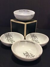 Fitz And Floyd Set Individual Olive Dishes White Nib