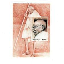 Uganda 1997 - MAHATMA GANDHI - Souvenir Sheet Stamp MNH