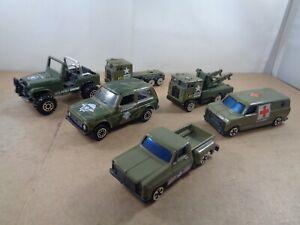 Hong Kong , Russian Diecast & China Military Vehicles - Trucks/Ambulance/LADA +