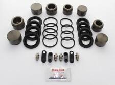 for MITSUBISHI EVO 7 8 9 FRONT L & R Brake Caliper Repair Kit +Pistons (BRKP318)