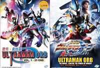 Ultraman Orb (Chapter 1 - 25 End + Movie) ~ All Region ~ Brand New Factory Seal