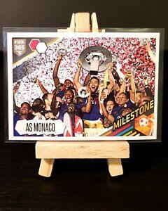 2017/2018 Panini FIFA 365 - Kylian Mbappe - Monaco Champions - Milestone #437