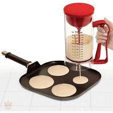 Pancake Machine Electric Maker Perfect Dispenser Batter As Seen On Tv Crepes New