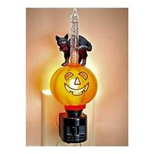 Halloween Jack O'Lantern And Black Cat Bubble Light Night Light