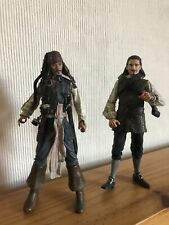 Capitaine Jack Sparrow & Will Turner Pirates of the Caribbean 7 in (environ 17.78 cm) figures
