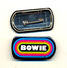 DAVID BOWIE KLOS 95.5 Promo Vintage Button Pin Pinback Badge NEW Original!! 1980