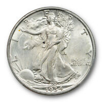 1934 D 50C Walking Liberty Half Dollar PCGS MS 62 Uncirculated Cert#2951