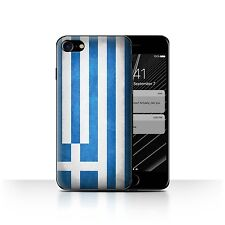 STUFF4 Case/Cover for Apple iPhone 7/Flags/Greece/Greek