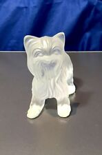 Lalique Figurine Dog Yorkshire Standing - Super Boy Debout 11747 Crystal - NEW -