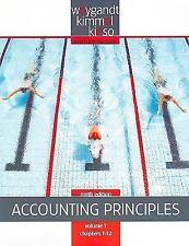 Weygandt Kimmel Kieso Vol 1 Accounting Principles Chap 1-12 Paperback Text Book