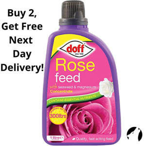✅ Doff Rose Flower Plant Feed Concentrate, Quality Fast Acting, Healthy Growth ✅