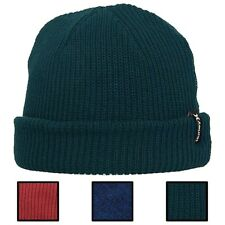5a8729358a6 Hurley Mens Shipshape Beanie Red Acrylic One Size