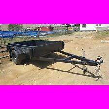 7x5 BOX TRAILER EXTRA HEAVY DUTY 1 PCE FOLD FULL CHECKER PLATE also got 8x5 10x5