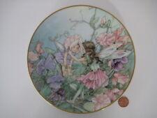 VILLEROY & BOCH PLATE CICELY MARY BARKER FLOWER FAIRY SWEET PEA HEINRICH