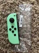 New Nintendo Switch Left Mint Green Animal Crossing Joy Con ONLY! READ!