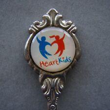 Heart Kids Stuart Silverplated Souvenir Spoon Teaspoon (T96)