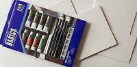 MAGI-WAP BASICS Ölfarben Set 20 tlg. & 5 Malpappen 13x18 cm